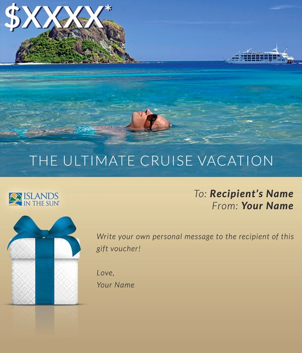 Vacation Gift Certificate Template Beautiful Gift Vouchers