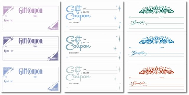Vacation Gift Certificate Template Best Of Best Last Minute Gift Gifts that are Not Things Made to