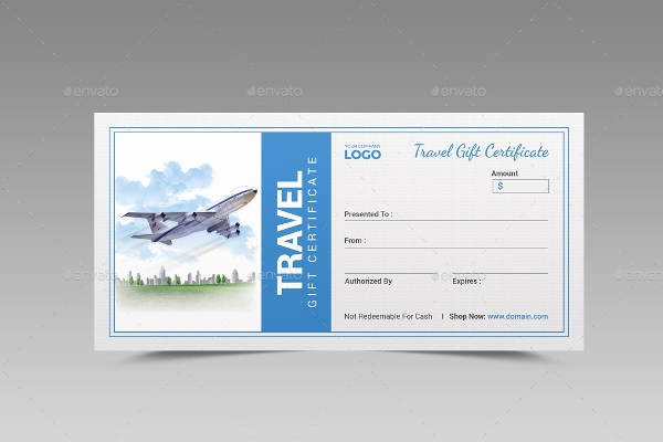 Vacation Gift Certificate Template Unique Sample Gift Certificate Template 64 Documents Download