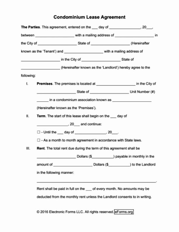 Vacation Rental Agreements Template Lovely Vacation Rental Lease Agreement Template