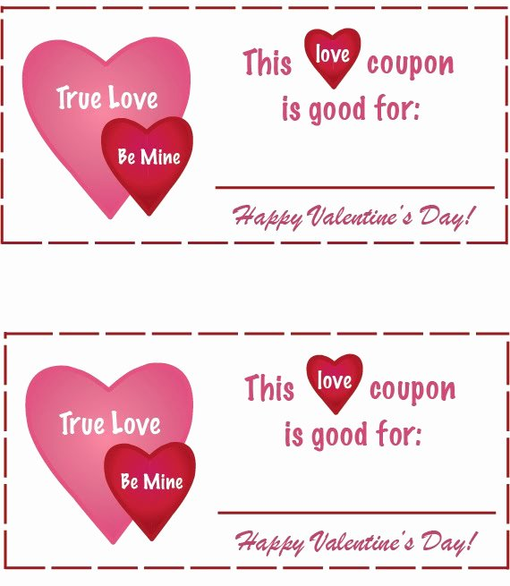 Valentine Day Coupon Template Best Of Inspiring Creations Love Coupons Free Printable
