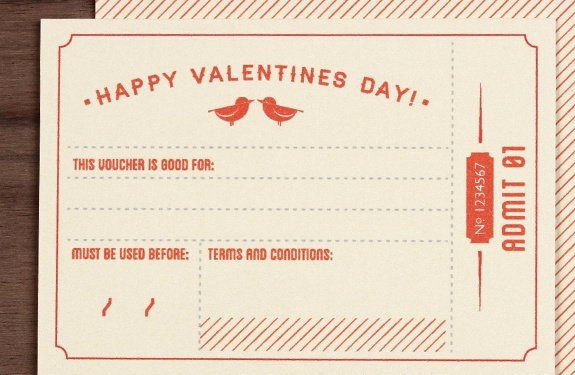 Valentine Day Coupon Template Elegant Printable Fill In the Blank Valentine S Day Coupons with