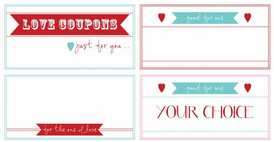 Valentine Day Coupon Template Lovely Free Printable Of the Day