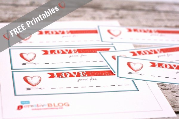 Valentine Day Coupon Template Lovely Printable Coupons for Valentine S Day