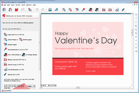 Valentine Day Coupon Template New How to Create Printable Valentine's Day Pdf Coupon