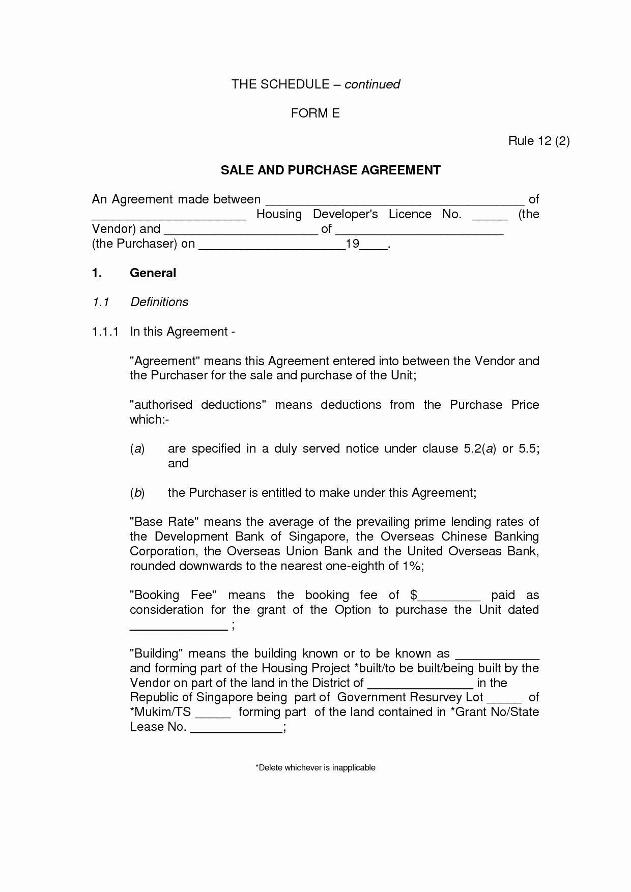Vehicle Purchase Agreement Template New Private Party Car Purchase Agreement Simple by Qeb