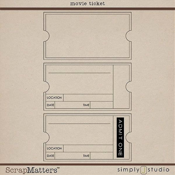 Vintage Movie Ticket Template Awesome Movie Ticket Template Movie Night Pinterest