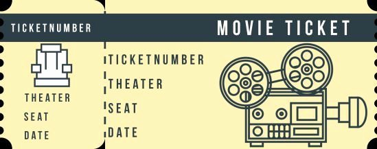 Vintage Movie Ticket Template Awesome Vintage Movie Ticket Template