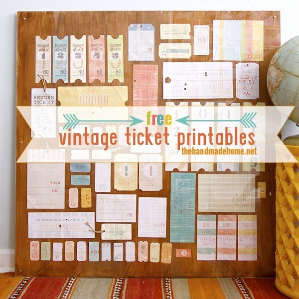 a life well lived free vintage tag ticket printables