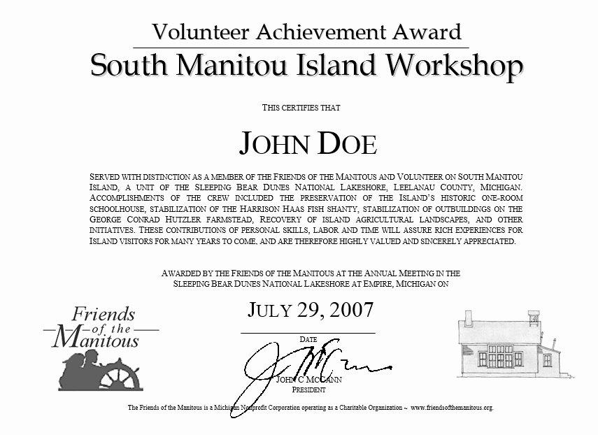 Volunteer Appreciation Certificate Template Awesome 9 Free Sample Volunteer Certificate Templates Printable