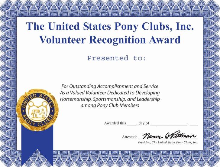 Volunteer Appreciation Certificate Templates Awesome Volunteer Certificate Templates