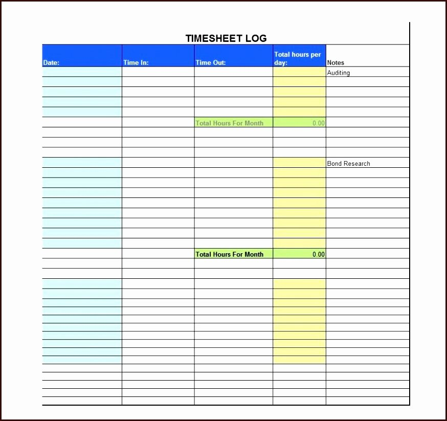 Volunteer Hours Log Template Lovely 8 Beautiful Volunteer Hours Log Template Excel Maotme