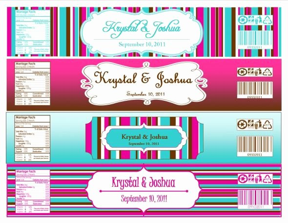 Water Bottle Label Template Free Luxury Another Label Report… Link to Template Works now