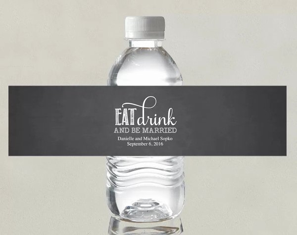 Water Bottle Label Template Free Luxury How to Make Water Bottle Labels In Word