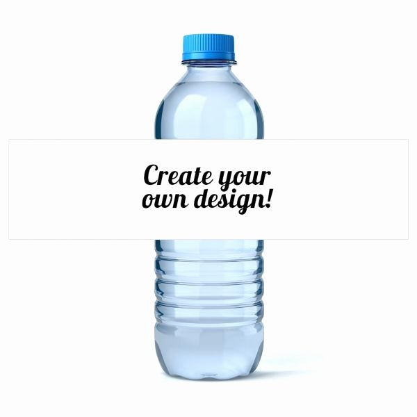 Water Bottle Labels Template Word Beautiful Custom Water Bottle Labels Icustomlabel