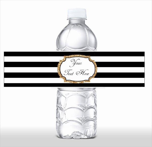 Water Bottle Labels Template Word Fresh 10 Blank Water Bottle Label Templates Free Printable