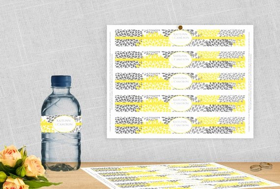 Water Bottle Labels Template Word Inspirational Diy Water Bottle Label Template for Avery by