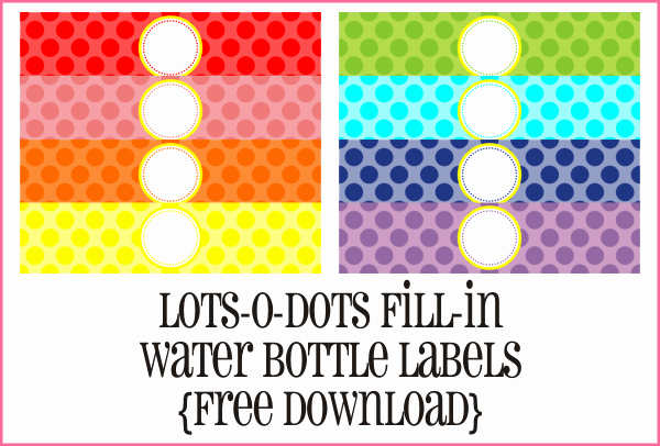 Water Bottle Labels Template Word Lovely the Crew Introducing Yra Rivera Piggy Bank Parties