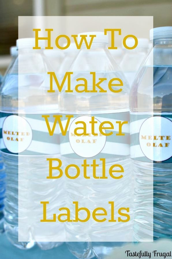 Water Bottle Labels Template Word New How to Make Water Bottle Labels In Word