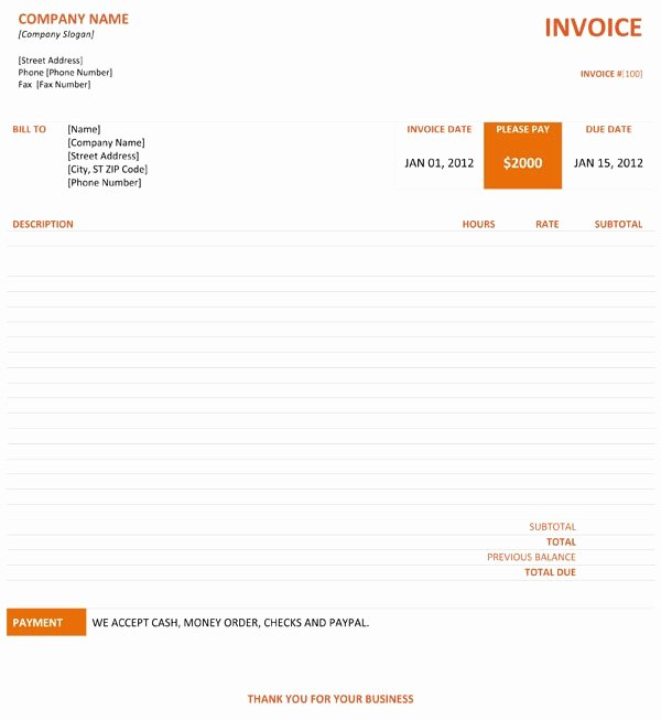 Web Design Invoice Template Beautiful Graphic Design Invoice