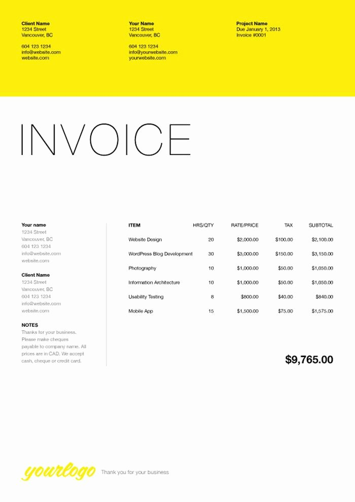 Website Design Invoice Template Awesome 76 Best Web Design Quotation Images On Pinterest