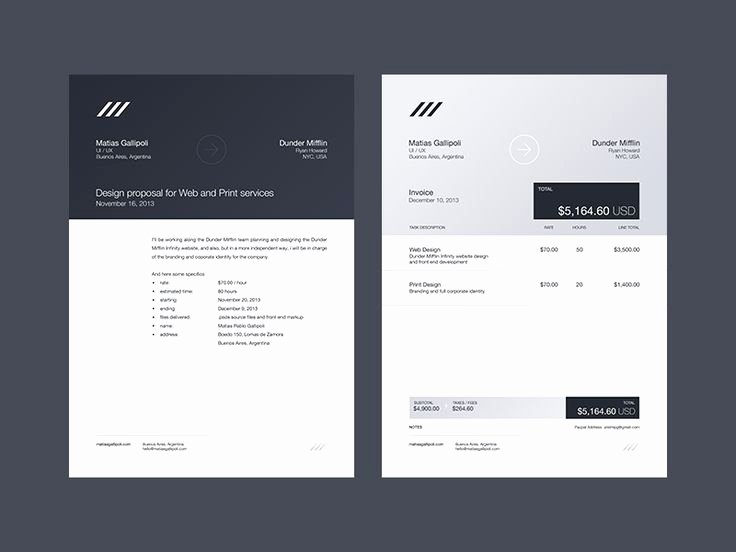Website Design Invoice Template Lovely 20 Best Invoices Inspiration Images On Pinterest