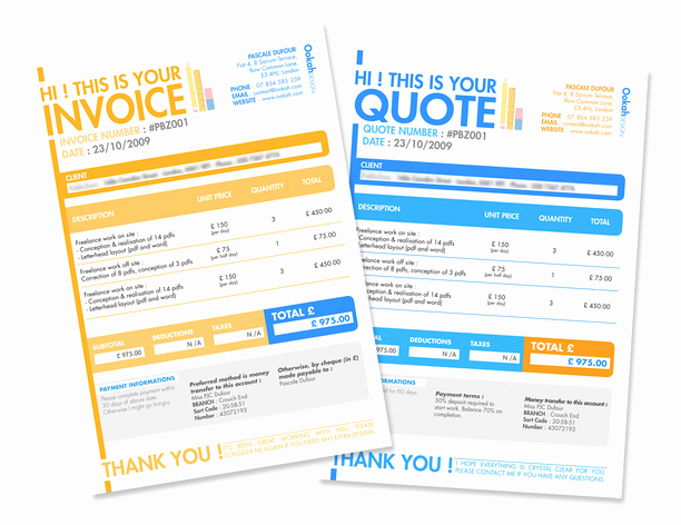 Website Design Invoice Template Lovely Professional Invoice Design 16 Samples & Templates to