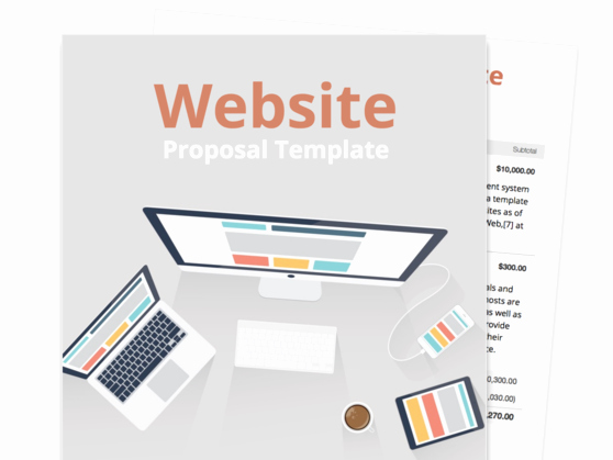Website Proposal Template Doc Best Of Find Your Proposal Template