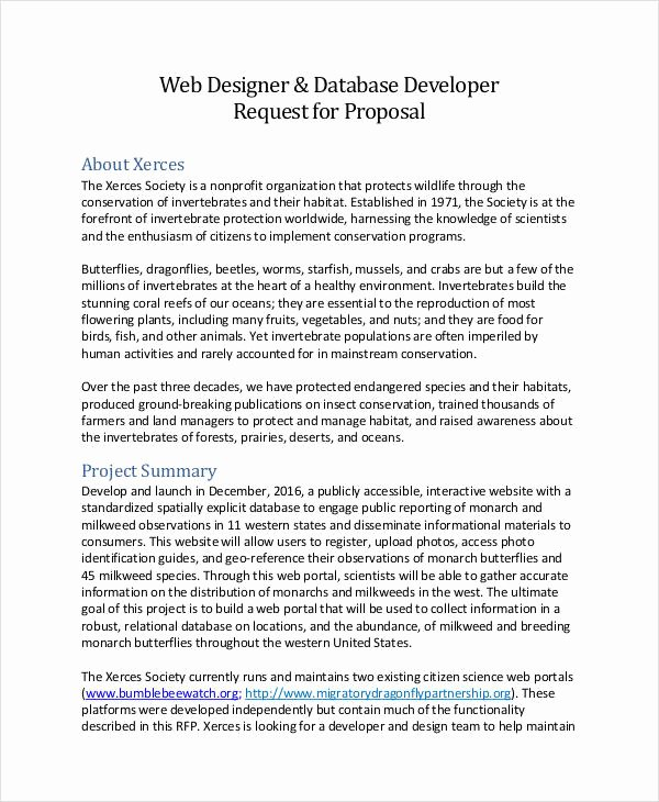 Website Proposal Template Doc Best Of Sample Web Design Proposal Template 13 Free Documents