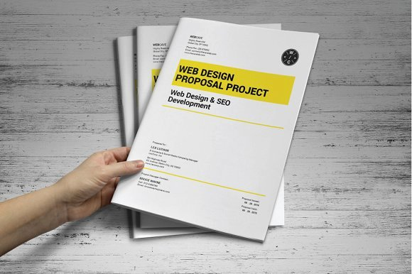 Website Proposal Template Doc Elegant Web Proposal Template Stationery Templates On Creative