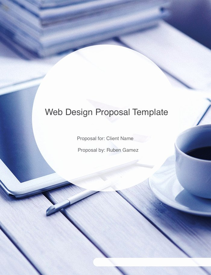 Website Proposal Template Doc Inspirational Ultimate Web Design Proposal Template Free Download