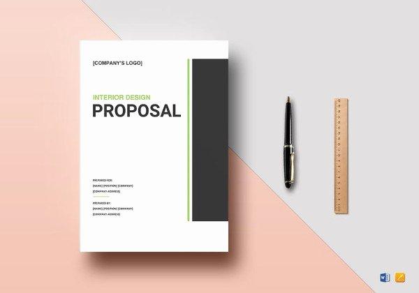 Website Proposal Template Word Elegant Design Proposal Template 20 Free Word Excel Pdf