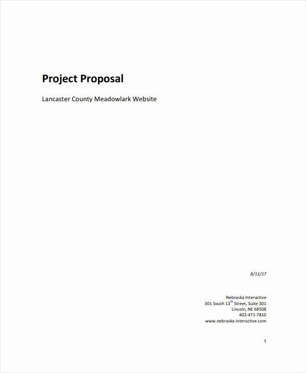 Website Proposal Template Word Fresh 12 Website Project Proposal Templates Pdf Word Pages