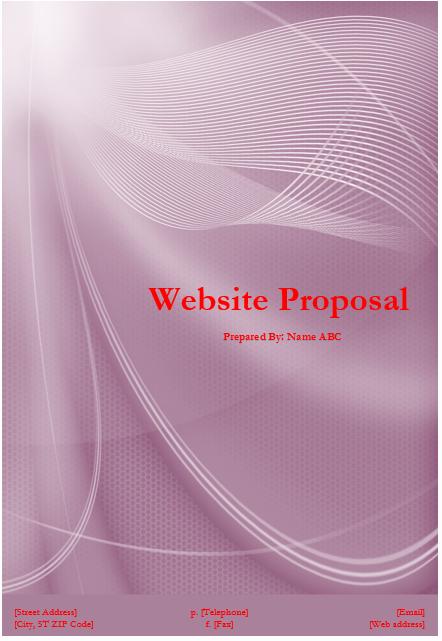 Website Proposal Template Word Luxury Website Proposal Template Microsoft Word Templates