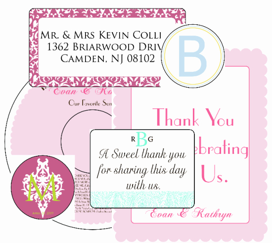 Wedding Address Label Template Beautiful Wedding Label Templates