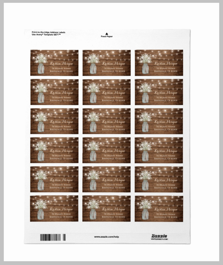 Wedding Address Label Template Elegant 17 Wedding Address Label Designs Psd Vector Eps