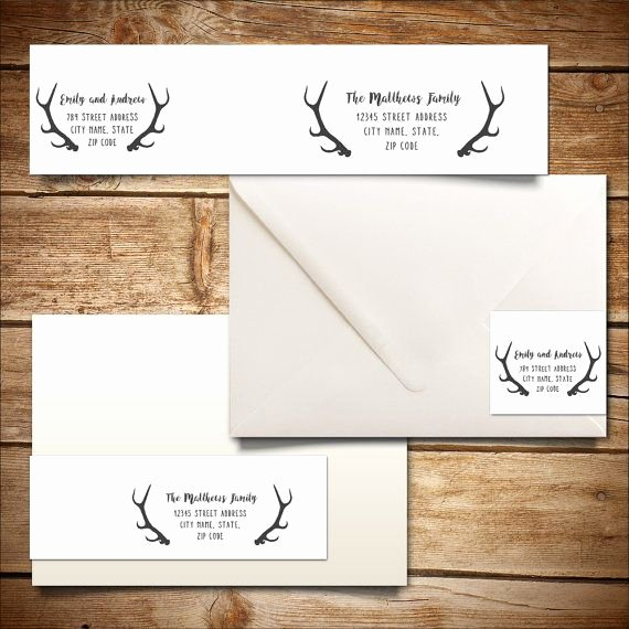 Wedding Address Labels Template Best Of Printable Wrap Around Address Label Template for by