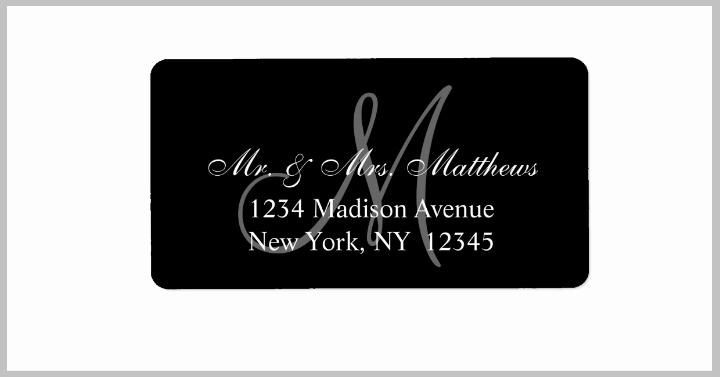 Wedding Address Labels Template Fresh 17 Wedding Address Label Designs Psd Vector Eps