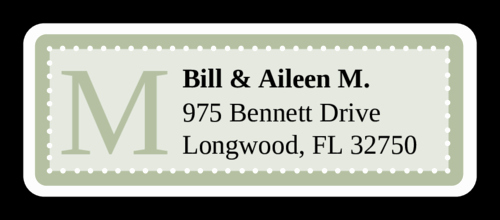 Wedding Address Labels Template Lovely Chesapeake Pistachio Wedding Address Label Label