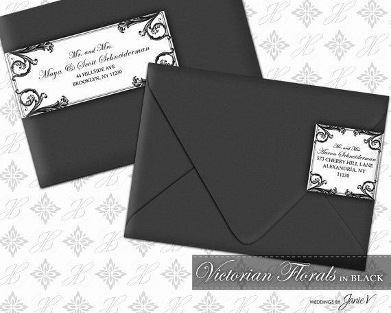 Wedding Address Labels Template Unique Diy Printable Wedding Wrap Around Address Label Template