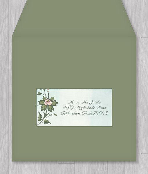 Wedding Address Labels Template Unique Watercolor Flowers Address Label Template – Download & Print