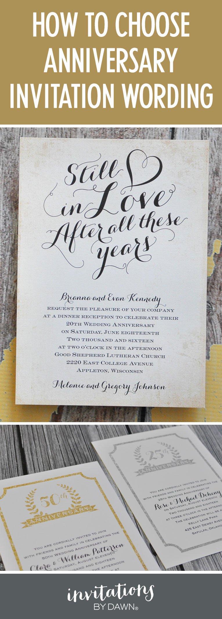 Wedding Anniversary Invitation Templates Best Of Finding the Right Wedding Anniversary Invitation Wording