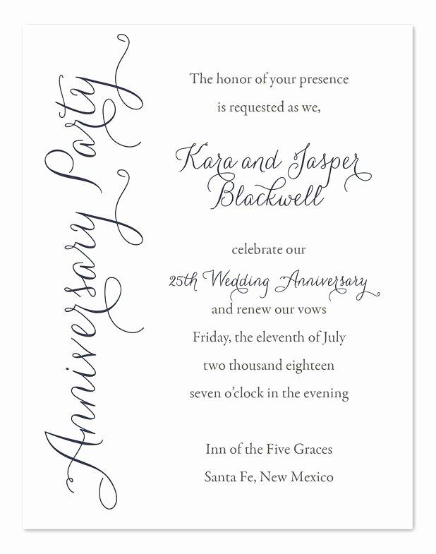 Wedding Anniversary Invitation Templates Fresh Best 25 Anniversary Invitations Ideas On Pinterest
