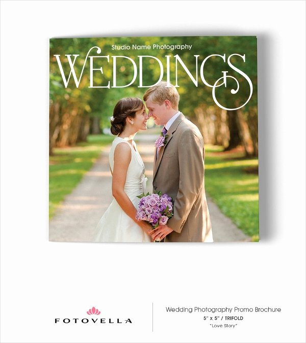 Wedding Brochure Template Free Awesome 29 Wedding Brochure Template Psd Docs Pages Ai