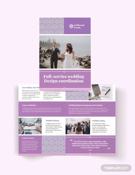 Wedding Brochure Template Free Best Of 30 Wedding Brochure Templates – Ai Psd Docs Pages