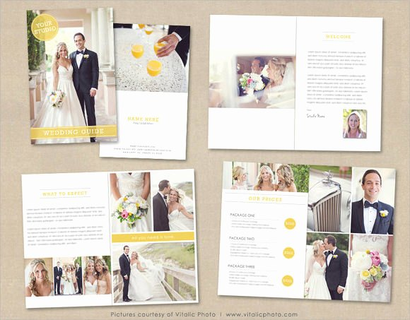 Wedding Brochure Template Free Elegant 11 Wedding Brochures Psd In Design