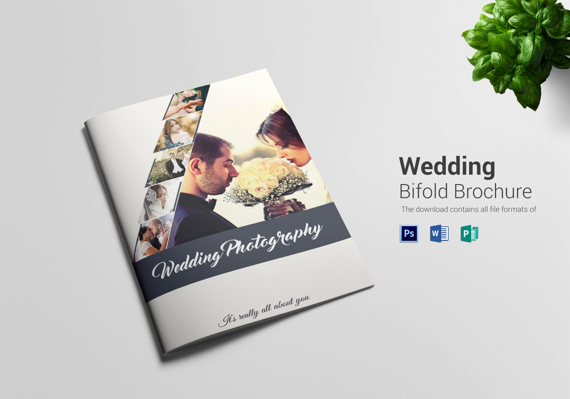 Wedding Brochure Template Free Fresh Wedding Graphy Bi Fold Brochure Design Template In