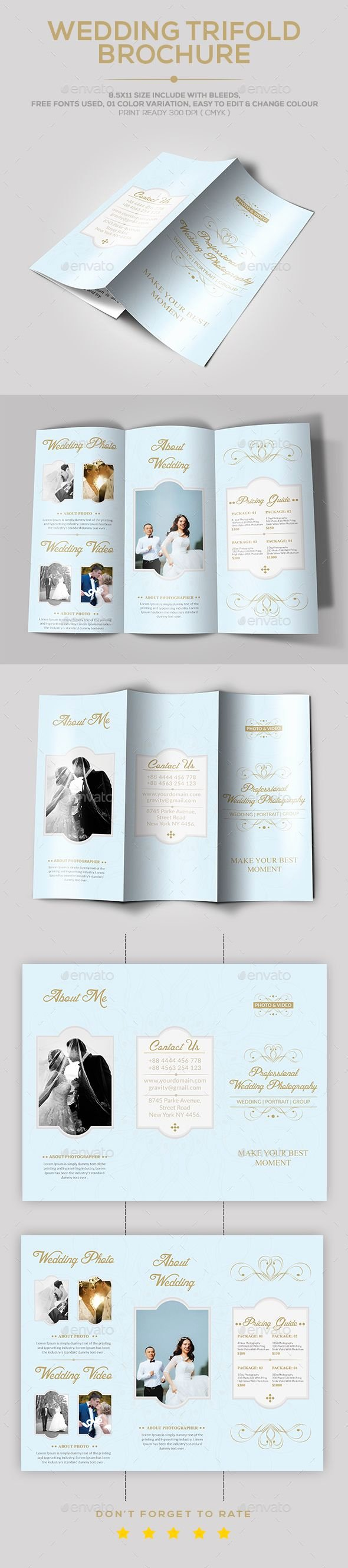 Wedding Brochure Template Free Luxury 25 Unique Wedding Brochure Ideas On Pinterest