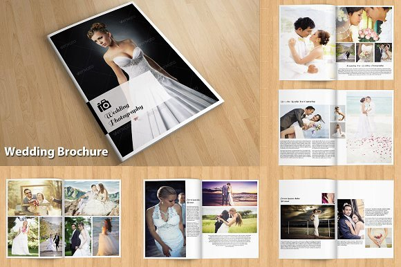 Wedding Brochure Template Free Luxury Indesign Wedding Brochure V114 Brochure Templates