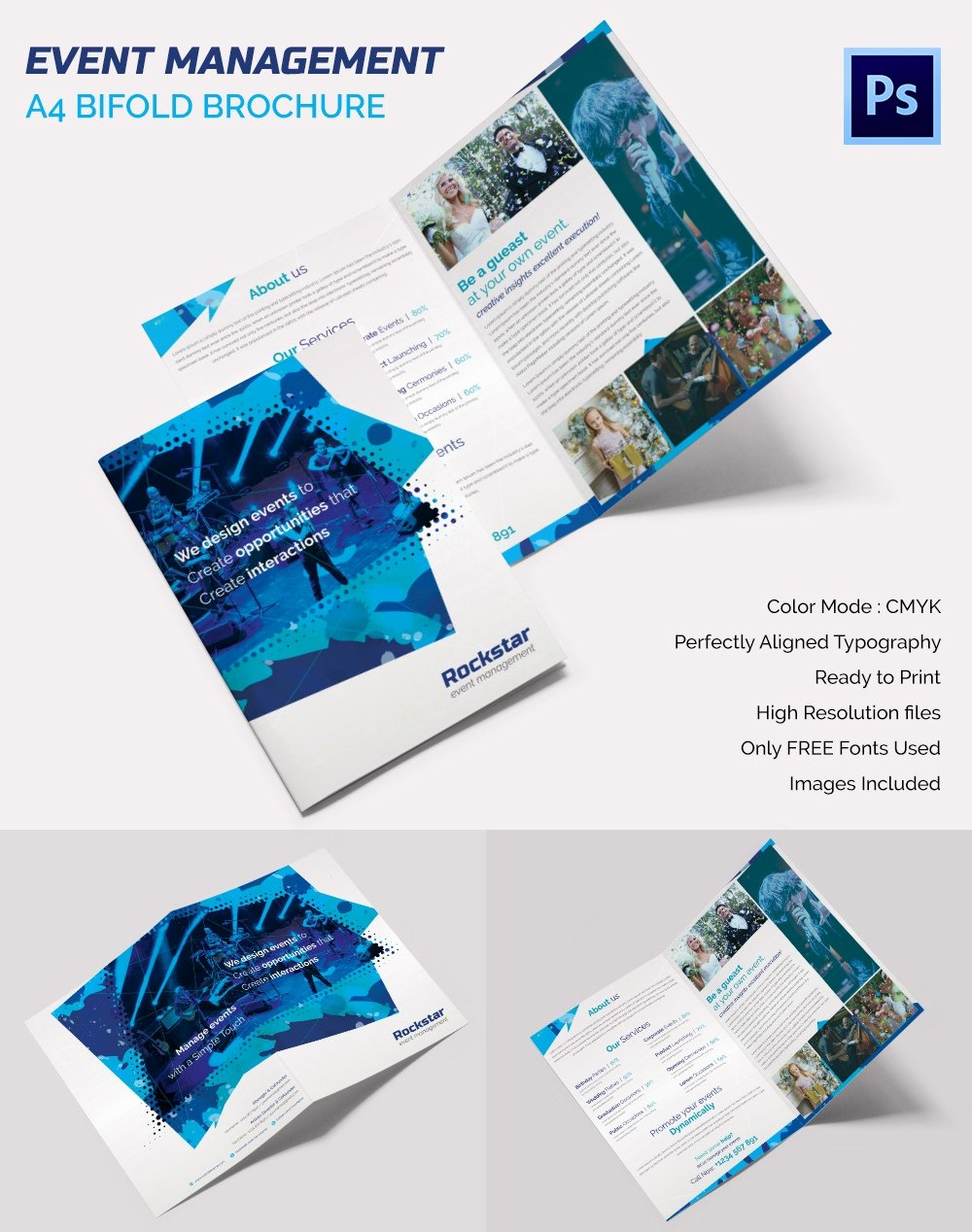 Wedding Brochure Template Free New 16 event Brochure Templates & Psd Designs